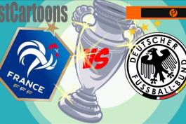 پیروزی فرانسه مقابل آلمان در یورو 2020 به روایت کارتون