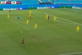 فول مچ اسپانیا 0-0 سوئد (یورو 2020)