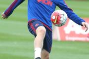 گزارش تصویری؛ آخرین تمرین منچستریونایتد برای بازی با ساندرلند