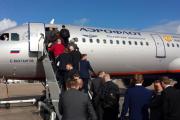 گزارش تصویری؛ آخرین تمرین منچستریونایتد پیش از سفر به مسکو