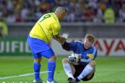 رونالدو و کان در فینال جام جهانی 2002